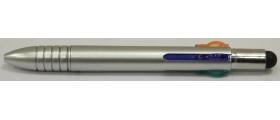 Monteverde S107 Mluticolour Stylus Ballpoint, Silver