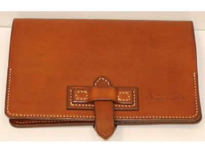MorganEsq 10-Pen Case, Tan