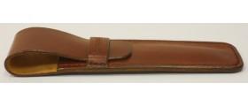 MorganEsq Single Pen Case, Papaya