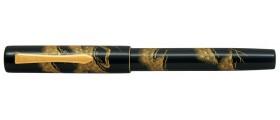 """Namiki Yukari Chinkin Fountain Pen, Matsu """"Pine Tree"""""""