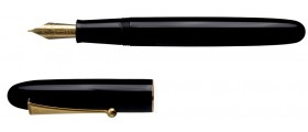 Namiki Yukari Royale Urushi Fountain Pen, Black