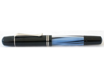 Pelikan M101N Fountain Pen, Blue/Grey Special Edition