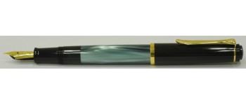 Pelikan M200 Fountain Pen, Green Marble