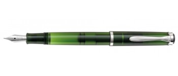 Pelikan M205 Fountain Pen, Olivine Special Edition, with Edelstein Olivine Ink Bottle