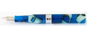 PenBBS No. 471 Pocket Eyedropper Convertible Fountain Pen/Ink Rollerball, Storm