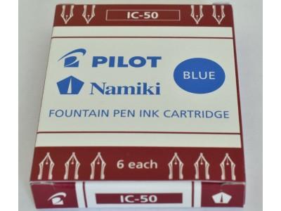 Pilot Ink Cartridges, per pack of 6