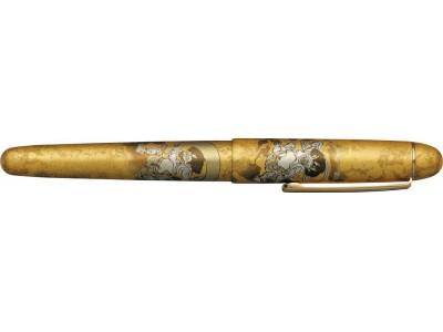 Platinum 3776 Century Slip & Seal Fountain Pen, Raijin Kanazawa-haku Gold Leaf