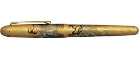 Platinum 3776 Century Slip & Seal Fountain Pen, Ascending Dragon Kanazawa-haku Gold Leaf