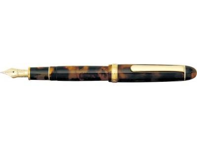 Platinum 3776 Century Slip & Seal Fountain Pen, Celluloid, Tortoise
