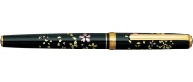 Platinum Vicoh Kanazawa-Haku Fountain Pen, Swirling Petals of Cherry