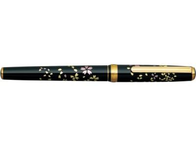Platinum Vicoh Kanazawa-Haku Fountain Pen, Swirling Petals of Cherry
