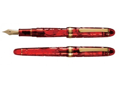 Platinum 3776 Century Slip & Seal Fountain Pen, Fuji Shunkei, Kinshu Limited Edition