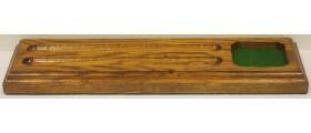 Roscoe Medium Oak Single Ink Stand