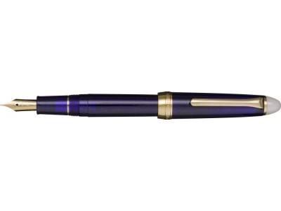Sailor Shikiori Fountain Pen, Yonaga (Navy Blue), Gold Coloured Trim