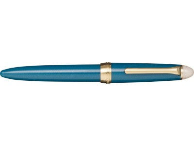Sailor Shikiori Fountain Pen, Shimoyo (Light Blue), Gold Coloured Trim