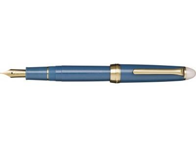 Sailor Shikiori Fountain Pen, Shimoyo (Light Blue), Gold Coloured Trim