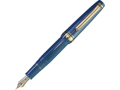 Sailor Professional Gear Slim (Sapporo) Mini Fountain Pen, Ayur Blue