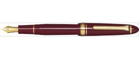 Sailor 1911 Standard Fountain Pen, Maroon with Gold Accents