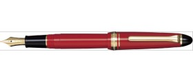 Sailor 1911 Standard Fountain Pen, Red with Gold Accents