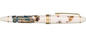 """Sailor Resin Maki-e 1911 Fountain Pen, """"Maiko"""" - An Apprentice Geisha"""