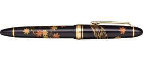 "Sailor Resin Maki-e 1911 Fountain Pen, ""Momiji"" - Autumn Leaves"