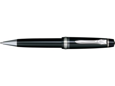 Sailor Professional Gear II Ballpoint, Black with Silver Accents
