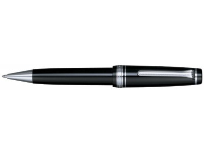 Sailor Professional Gear Ballpoint, Black with Silver Accents