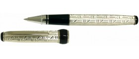 Via Roma Sterling Silver Rollerball, Aztec