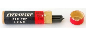 AC547 Eversharp Red Top Leads, 0.9mm, Medium (HB), Per Pack of 20