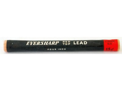 AC555 Eversharp Red Top Leads, 1.18mm, Blue, Per Pack of 8