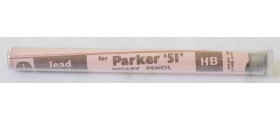 AC574 Parker 51 Pencil Leads, 0.9, HB, Per Pack of 12