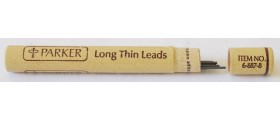 AC575 Parker Long Thin Pencil Leads, 0.9, HB, Per Pack of 12