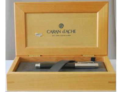 CA037 Caran d'Ache Varius Carbon 3000 Rollerball, boxed.