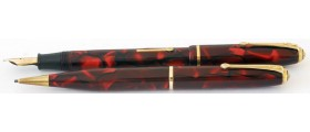 CS821 Conway Stewart Dinkie No. 550 Fountain Pen and No. 25 Pencil Set, boxed (Soft Medium)