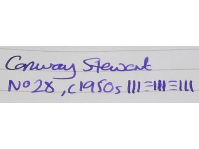 CS826 Conway Stewart No. 28.  (Medium)