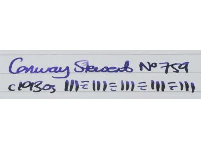 CS859 Conway Stewart No. 759.  (Soft Broad)