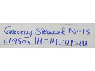 CS867 Conway Stewart No. 15.  (Soft Medium).