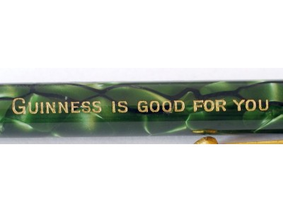 "CS881 Conway Stewart Nippy No. 3 Pencil, ""Guinness is Good for You""."
