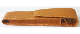 FC013 Graf von Faber-Castell Leather 2-Pen case, boxed