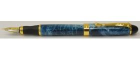 Jinhao No. X450 Fountain Pen, Blue Swirl