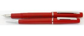 ME195 Platignum Ensign Fountain Pen and Pencil Set, boxed.  (Medium)