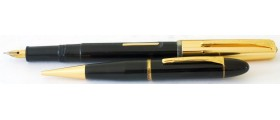 ME199 Platignum Bijou Fountain Pen and Pencil set, boxed.  (Medium)