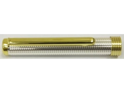 MS517 Silver plated Fountain Pen, boxed (Medium)