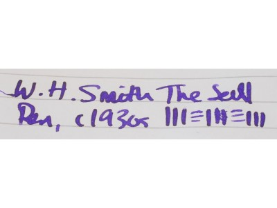 MS577 W. H. Smith The Seal Pen. (Double-Broad Stub)