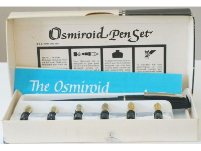 OS024 Osmiroid Lettering Set, boxed.