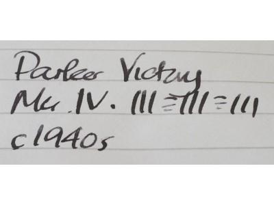 PA2472 Parker Victory Mk. IV (Soft Medium)