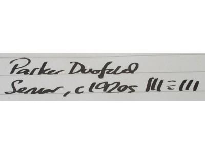 PA2478 Parker Lucky Curve Duolfold Senior (Broad Stub)