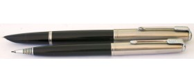 PA2493 Parker 51 Aerometric Fountain Pen and Pencil Set. (Broad)