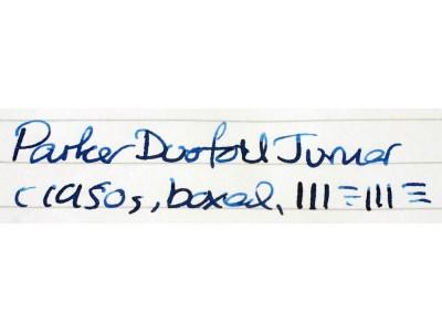 PA2540 Parker Duofold Junior, boxedc. (Medium)