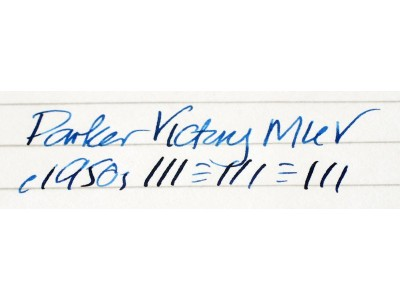 PA2566 Parker Victory Mk. V, Boxed.  (Soft Fine)